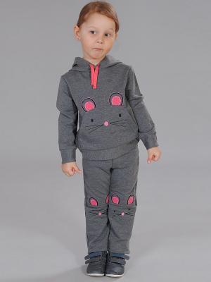 Комплект одежды Милашка Сьюзи. Цвет: серый