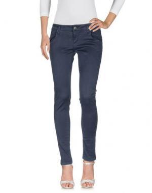 Джинсовые брюки SHAFT. Цвет: темно-синий