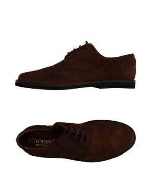 Обувь на шнурках CANTARELLI. Цвет: коричневый