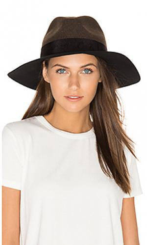 Шляпа с широкими полями Rag & Bone. Цвет: зеленый