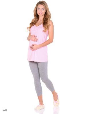 Комплект для беременных и кормящих FEST. Цвет: розовый, серый