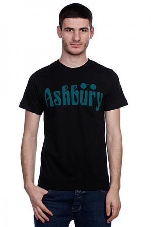 Футболка  Og Black/Green Ashbury. Цвет: черный