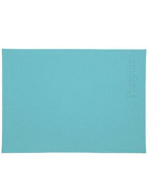 Обложка для паспорта голубая Tina Bolotina. Цвет: голубой