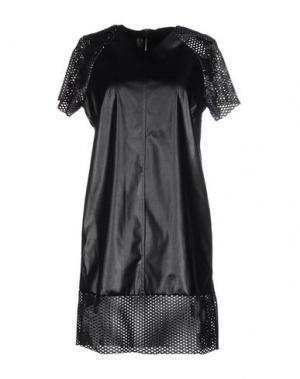Короткое платье MNML COUTURE. Цвет: черный