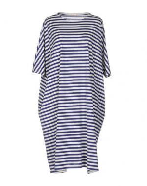 Платье до колена A.B APUNTOB. Цвет: синий