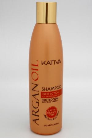 Увлажняющий шампунь Kativa. Цвет: none