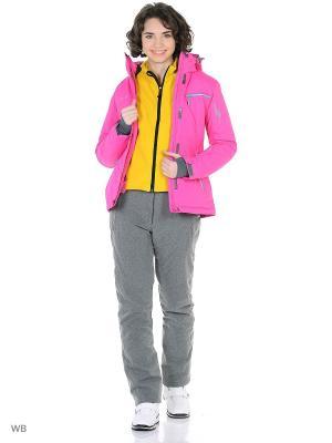 Куртка High Experience. Цвет: малиновый, коралловый