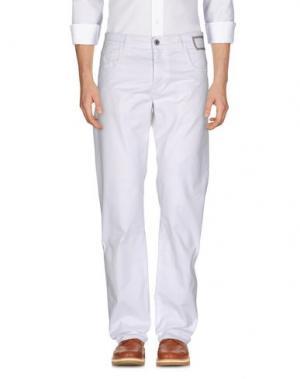 Повседневные брюки CAMOUFLAGE AR AND J.. Цвет: белый