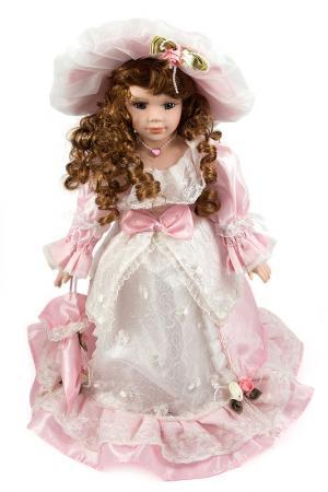 Кукла 41см Русские подарки. Цвет: белый, розовый