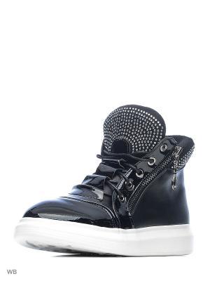 Ботинки Болеро. Цвет: черный