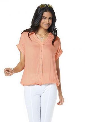 Chillytime, блузка BOYSEN'S. Цвет: абрикосовый