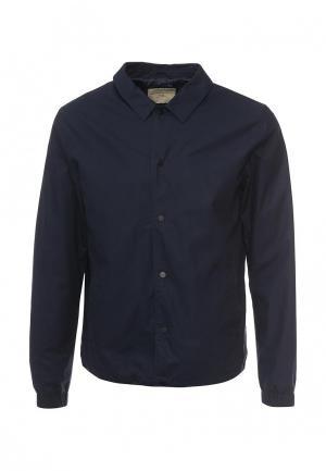 Куртка Selected Homme. Цвет: синий