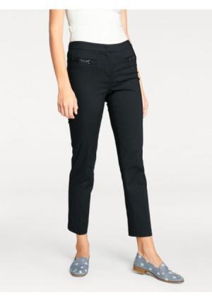 Моделирующие брюки ASHLEY BROOKE by Heine. Цвет: молочно-белый, темно-синий, черный
