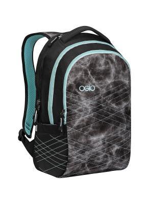 OGIO рюкзак SYNTHESIS PACK. Цвет: черный,лазурный,голубой