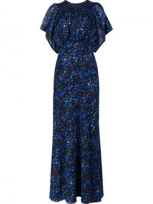 Платье Midnight Ferns Yigal Azrouel. Цвет: чёрный