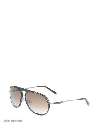 Очки солнцезащитные DQ 0074 48F Dsquared. Цвет: коричневый