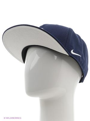 Кепка FFF U NK TRUE CAP CORE Nike. Цвет: синий