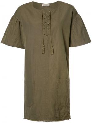 Платье Marcelle Ulla Johnson. Цвет: зелёный