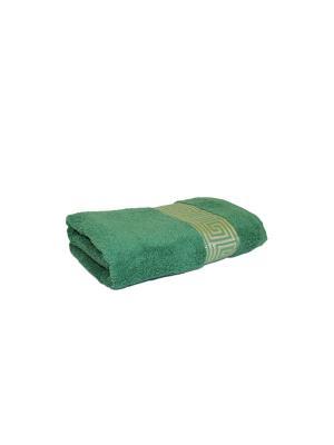 Полотенце махровое PROFFI HOME Классик, 30х50см, зеленый. Цвет: зеленый