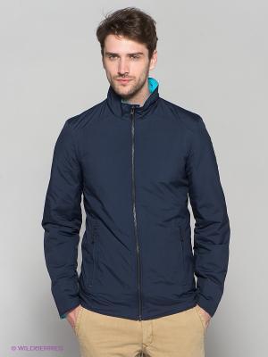 Куртка Absolutex. Цвет: темно-синий, голубой