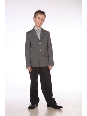 Пиджак UniStyle. Цвет: серый