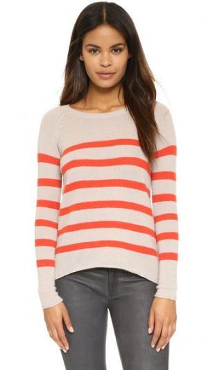 Кашемировый свитер Arlette Velvet. Цвет: мандариновый