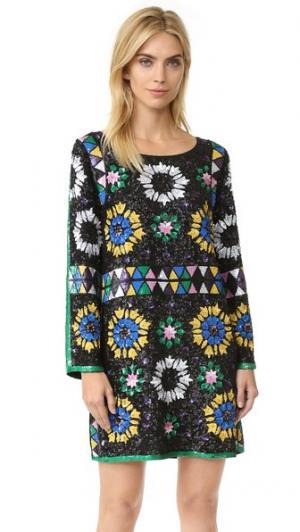 Платье Imran Antik Batik. Цвет: multico
