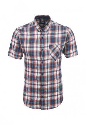 Рубашка s.Oliver Denim. Цвет: разноцветный