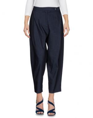 Джинсовые брюки NINE:INTHE:MORNING. Цвет: синий