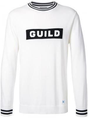 Джемпер Guild Prime. Цвет: белый