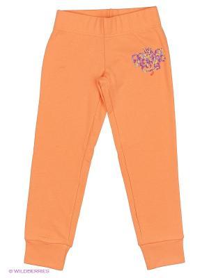 Брюки GIRLS CUFFED PANT ASICS. Цвет: персиковый, светло-коричневый