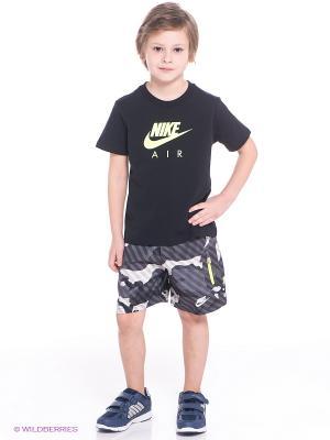Шорты HBR SWIM SHORT LK Nike. Цвет: серо-коричневый