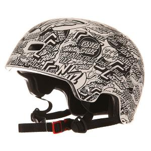 Шлем для скейтборда  Ogsc Helmet All Over White Bullet. Цвет: черный,белый