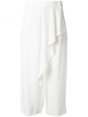 Ruffle detail pants Antonio Marras. Цвет: белый