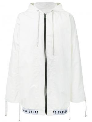 Куртка-бомбер Veil Strateas Carlucci. Цвет: белый