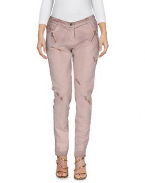 Джинсовые брюки TOY G.. Цвет: светло-коричневый