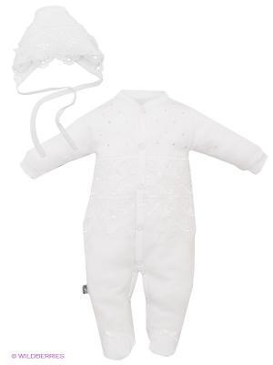 Комплект Жанэт. Цвет: белый, серебристый
