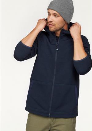 Флисовая куртка POLARINO. Цвет: темно-синий