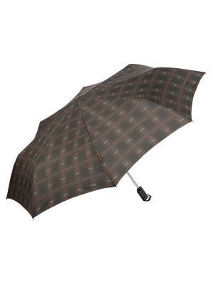 Зонт M&P. Цвет: темно-коричневый, черный