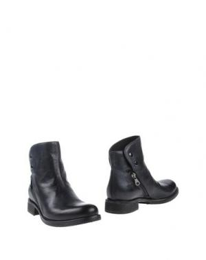 Полусапоги и высокие ботинки JUICE. Цвет: грифельно-синий