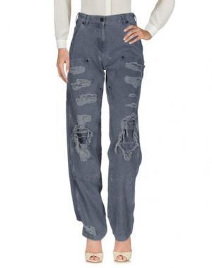 Повседневные брюки ALYX. Цвет: серый