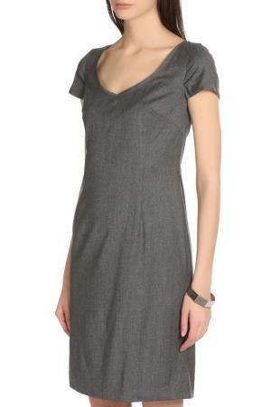 Платье Daniel Hechter. Цвет: серый