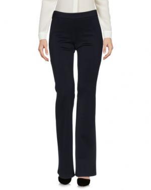 Повседневные брюки ODIEUSES. Цвет: темно-синий