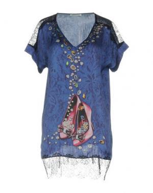 Блузка EAN 13. Цвет: синий