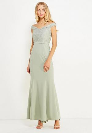 Платье Little Mistress. Цвет: зеленый