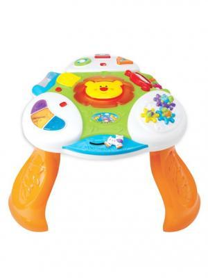 Развивающая игра Интерактивный стол Kiddieland. Цвет: синий, белый, оранжевый