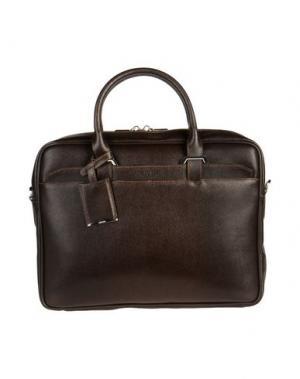 Деловые сумки GIUDI. Цвет: темно-коричневый