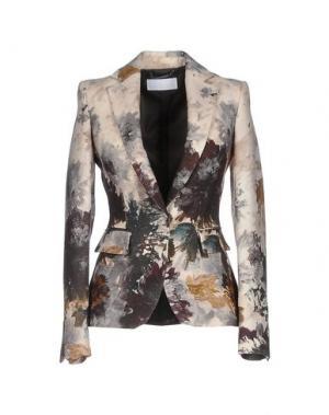 Пиджак LES COPAINS. Цвет: слоновая кость