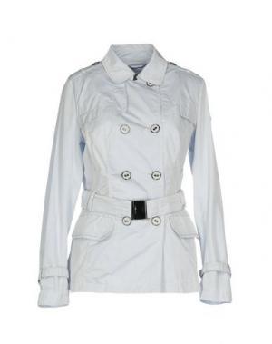 Легкое пальто GEOSPIRIT. Цвет: светло-серый