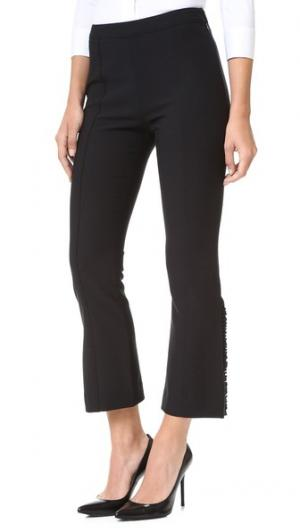 Оборчатые брюки Onyx Cinq a Sept. Цвет: голубой